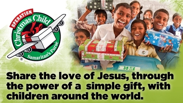 Christmas Child.Operation Christmas Child Cbc